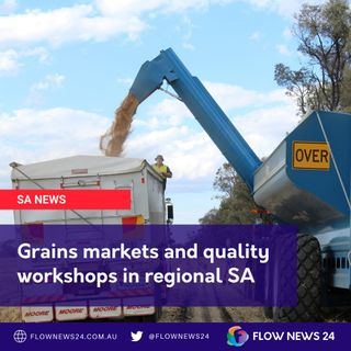 Grain marketing and quality workshops in regional SA - with @GrainProducerSA