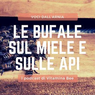 Le bufale sul miele e sulle api