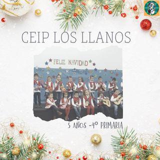 """CEIP Los Llanos (Ojén). """"En Ojén Alegría, ya llegó la Navidad""""."""