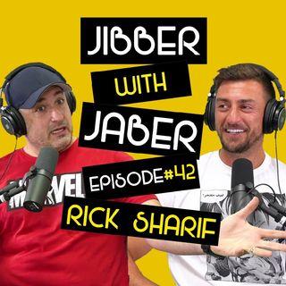 "Ep 42 | Tariq ""Rick"" Sharif | cutting edge creativity | Jibber with Jaber"