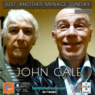 Just Another Menace Sunday #808 w: John Cale