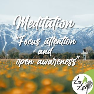 Meditation Focus Attention and Open Awareness