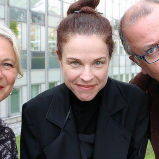Helena von Zweigbergk, Jonathan Lindström och Jessika Gedin