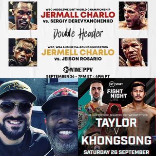 Boxing Preview - Taylor, Charlo double header & Mayweather returns?