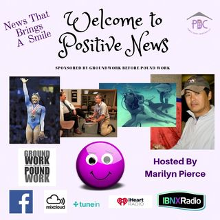 Positive News 11-13-18 A Weekly Segment on Live Life In The Purple Show with MLuV
