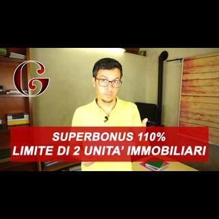 SUPERBONUS 110%: caldaia in appartamento e limite delle due unità immobiliari