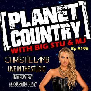#196 - Christie Lamb live in the studio