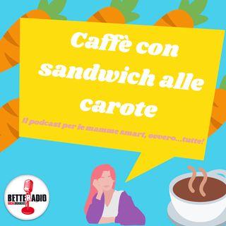 Caffè con sandwich alle carote