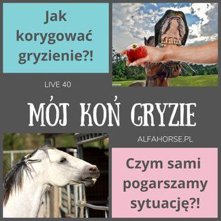 Live 40: Koń gryzie - Jak z nim pracować?!