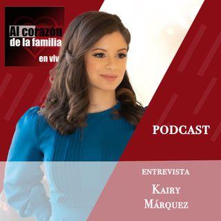 Entrevista Kairy Márquez podcast