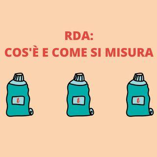 [Aggiornamento] RDA: cos'è e come si misura - Dott.ssa Chiara Lorenzi