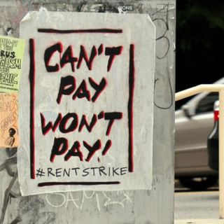 The Rent is due…