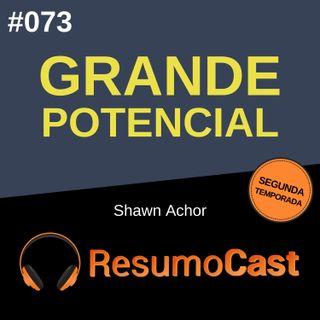 T2#073 Grande potencial | Shawn Achor