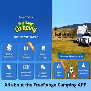 All About the FreeRange Camping APP - Rob Catania
