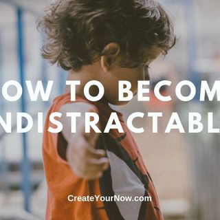 1854 How to Become Indistractable