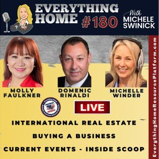 180 LIVE: Real Estate, Buying A Biz, YouTube Tips, Biz Growth, Current Events