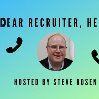 """Dear Recruiter Help"" (Pilot Episode for Job Seekers)"