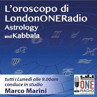 L'oroscopo settimanale dell'astrologo Marco Marini (04 Aprile  - 10 Aprile) Parliamo di Stelle