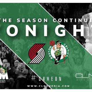 Boston Celtics Sim vs Trail Blazers | Sean Grande | Max | Kendrick Perkins