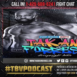 ☎️Carlos Takam vs. Jerry Forrest🔥Full Top Rank on ESPN Card❗️ Live Fight Chat🥊