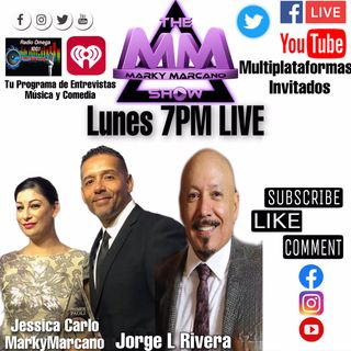 Entrevista al Productor Host Jorge L Rivera en TheMarkyMarcanoShow   Powered by TheMMStudios