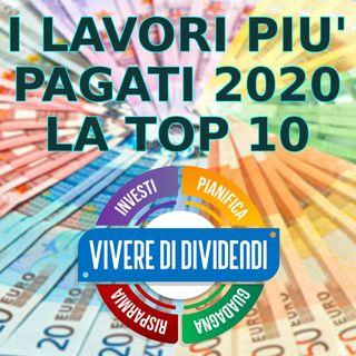 TOP 10 Lavori piu pagati in Italia nel 2020 + BONUS