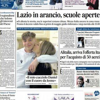 BUONGIORNO FORMALBA del 26 marzo 2021 con Marco Giustinelli