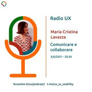 03/06/2021 - Maria Cristina Lavazza: comunicare, collaborare, giocare