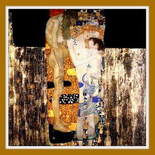 L'incantato realismo di Klimt: LE TRE ETÀ DELLA DONNA