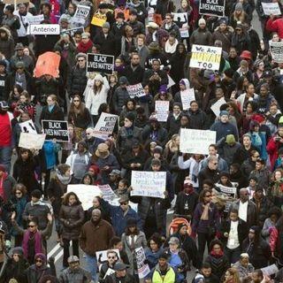 Manifestación contra brutalidad policial