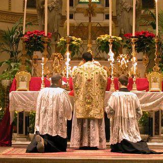 26 - Elogio della Messa Tridentina e del latino lingua della Chiesa