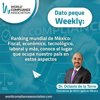 EP51 Dato Weekly: Fiscal, económico, tecnológico, laboral y más, conoce el lugar que ocupa nuestro país en estos aspectos