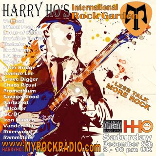 Harry Ho's intern. Rock Garden 05.12.2020