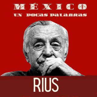 RIUS el caricaturista político de México y  sus  confusiones
