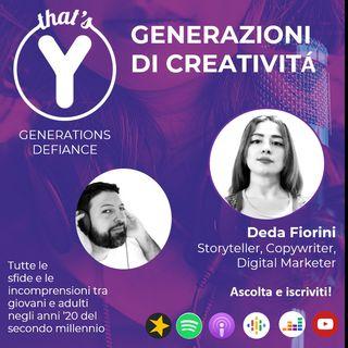 """""""Generazioni di Creatività"""" con Deda Fiorini [Generations Defiance]"""