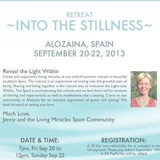 """Into the Stillness"" retreat, session 2"
