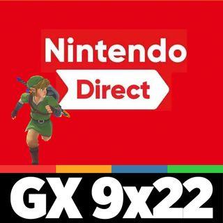 GAMELX 9x22 - Repaso al Nintendo Direct. ¿Nos gustó lo presentado?
