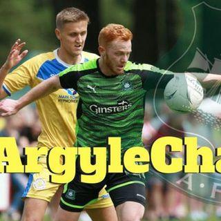 Where will Derek Adams look to strengthen his Argyle squad?