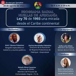 Ley 70 de 1993 una mirada desde el Caribe continental