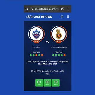 Delhi Capitals vs Royal Challengers Bangalore, 22nd Match IPL 2021
