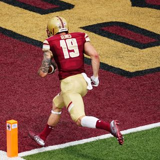 Boston College Football Back In Nation's Top 25