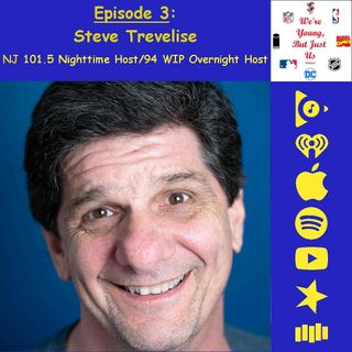 3. Steve Trevelise, NJ 101.5 Nighttime Host