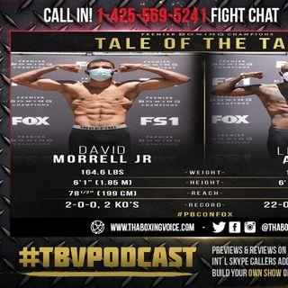 ☎️David Morrell vs. Lennox Allen🇨🇺Cuban Sensation Take Leap in Class😱Live Fight Chat🔥