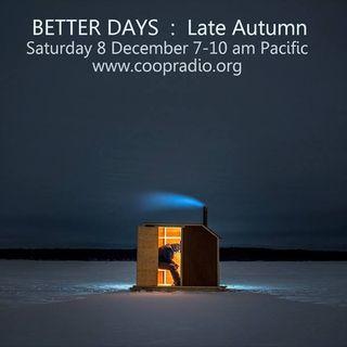 Better Days - December 8, 2018