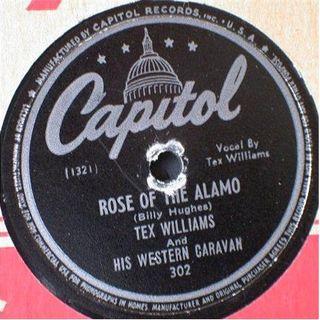 Tex Williams And His Western Caravan – Rose Of The Alamo / The California Polka