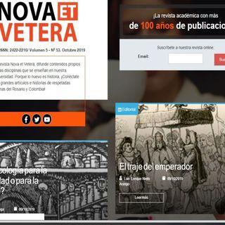 Ya está disponible la edición digital de Octubre de la Revista Nova et Vetera