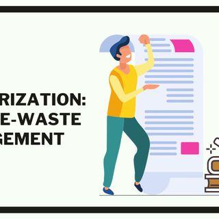 EPR Authorization Under E-Waste Management