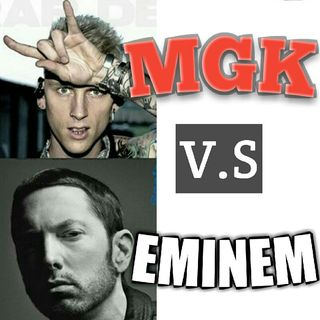 The NerdHeard:Eminem Vs MGK