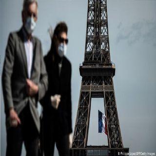Francia, baja en contagios informa solo 3.093 nuevos casos