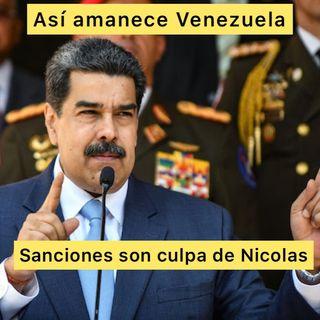 Podcast Así amanece Venezuela #16Jun 2021 Sanciones culpa de Nicolás